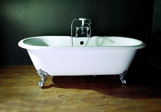 Refinished Clawfoot Bathtub